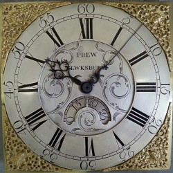 Prew restored dial and bespoke hands